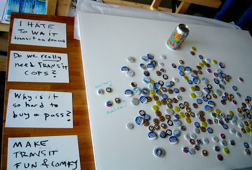 Homemade Cards and Buttons with a Message