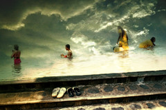 Beyond belief (Wen Nag (aliasgrace)) Tags: sky water clouds 1025fav photoshop manipulated wow heaven sandals religion creative belief imagination layers bathing eternity dreamscapes 1in10f50v hindus