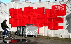 ZEDZ (wojofoto) Tags: streetart holland amsterdam graffiti mural nederland netherland postcs wallpainting fiets zedz oosterdok wolfgangjosten wojofoto