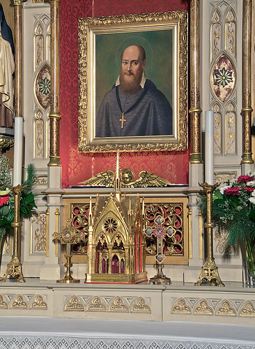 Saint Francis de Sales Oratory, in Saint Louis, Missouri, USA - reliquary 2.jpg