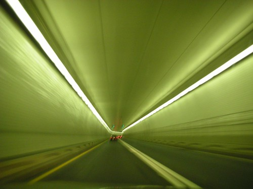 tunnel outside Baltimore