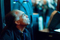 Gilberto Gil listening to Lessig's presentation (Joi) Tags: gilbertogil freesouls places:locality=kh8dloubbzrvxyz