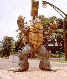 """Kyoryu Sentai ZyuRanger"".. 恐竜戦隊ジュウレンジャー // Dora Tortoise ドーラトトイス ((M.M.P.R. = Shellshock)) [[Courtesy SuperSentai.com]]"