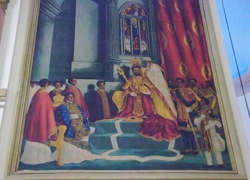 haile selassie coronation abuna
