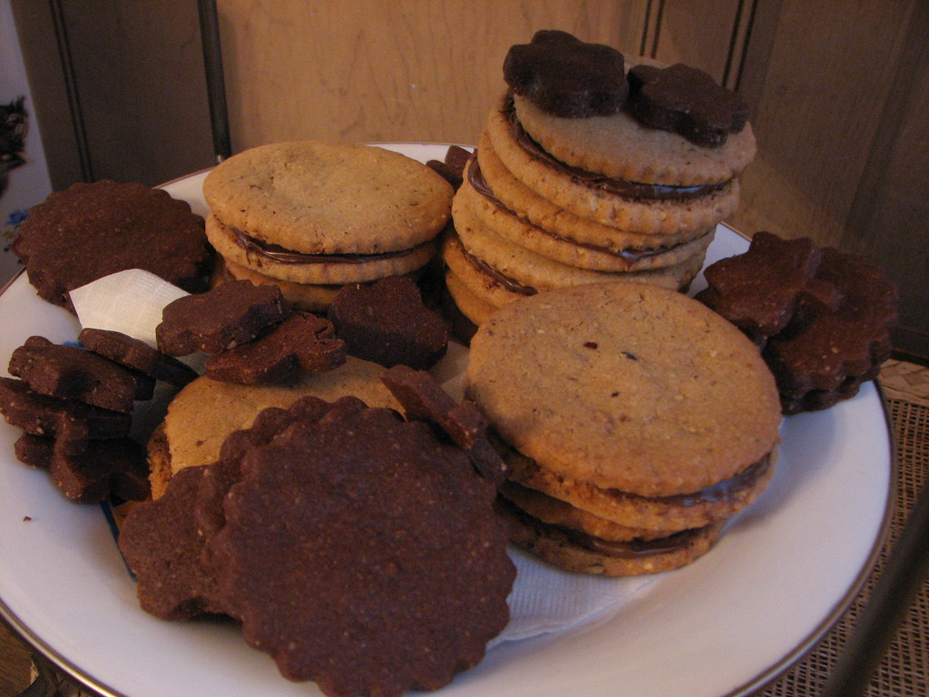Mexican Chocolate Butter Cookies