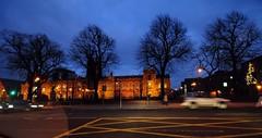 Queen's University at dusk