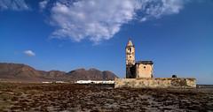 Iglesia de Cabo Gata II (Cyrano1969) Tags: espaa canon landscape 350d spain europe iglesia tokina1224 paisaje andalucia almeria almera cabodegata tokinaaf1224mmf4