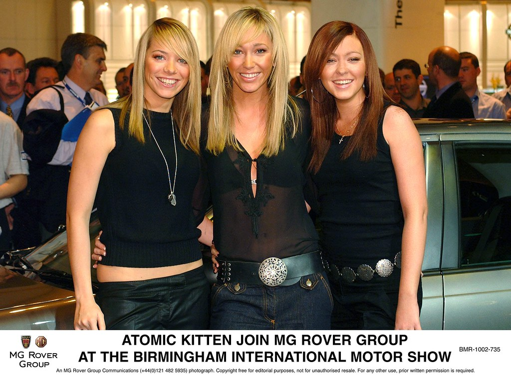 Atomic Kitten join Rover
