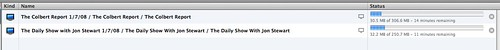 iTunes Downloading New Episodes!