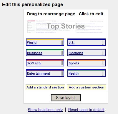 Personalize Your Page (Step 3)