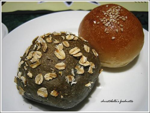 國賓飯店阿眉快餐廳套餐麵包