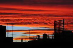 alba sui tetti di via braccio da montone 2 (duegnazio) Tags: roma clouds canon 350d italia nuvole colore alba vivid cielo canon350d 2008 q8 aworkofart romamor viabracciodamontone diamondclassphotographer cieloromano duegnazio vividmasters