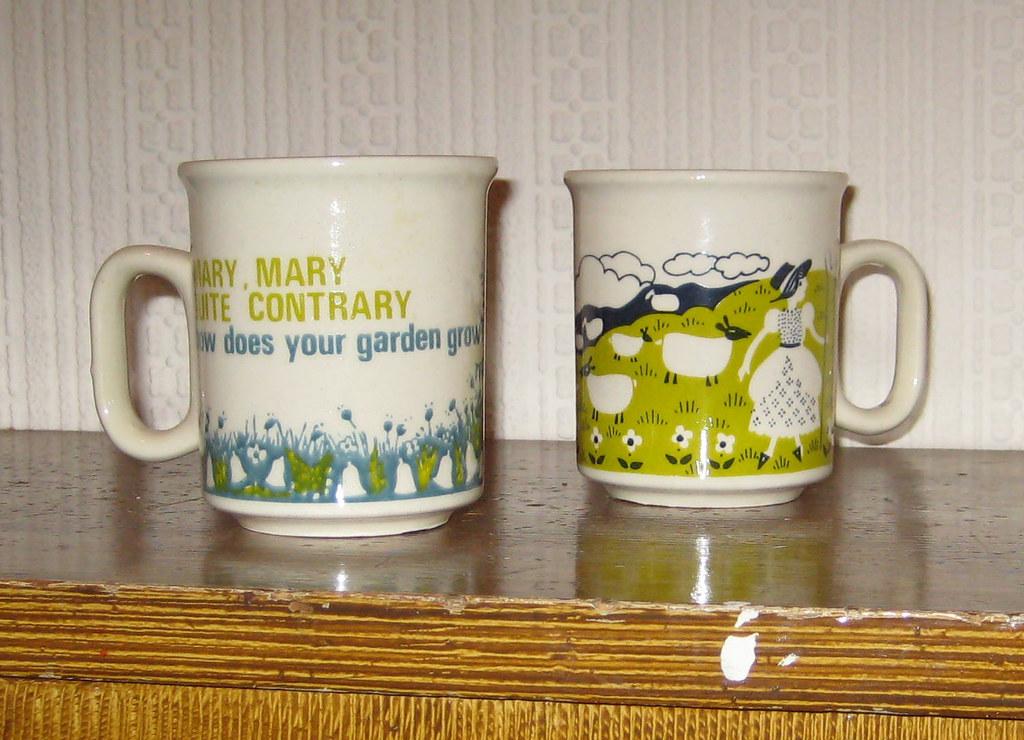 nursery rhyme mugs