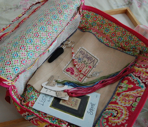 Vera Bradley Little Travel Case