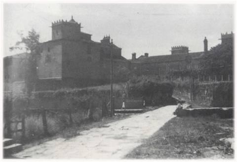 Mosteiro e pazo de Vistalegre.