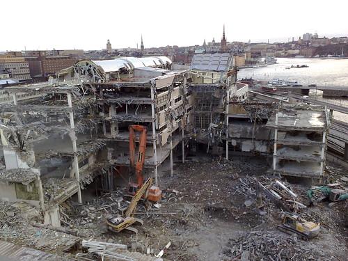 War zone Stockholm