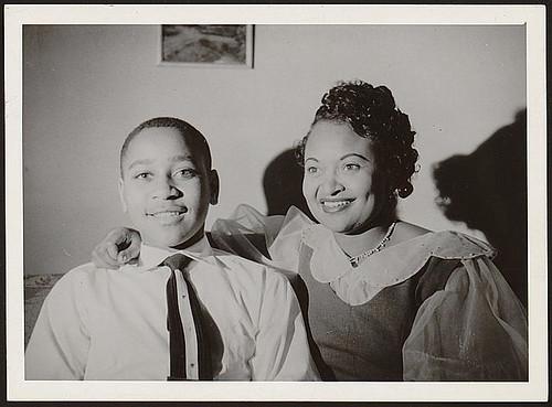 "Emmett Louis ""Bobo"" Till and his mother Mimie Mobley-Till"