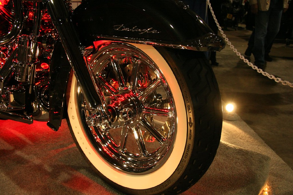 Chrome and whitewalls