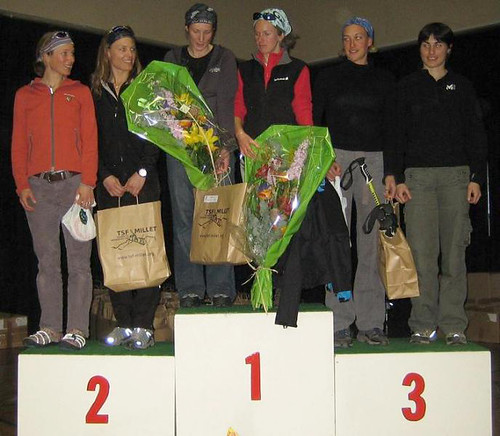 Womens TSF podium