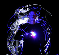 <3 (scienceduck) Tags: longexposure 15fav selfportrait lightpainting me public s moi slowshutter february 2008 scienceduck 5c4r7
