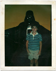 Box of Memories (tubes.) Tags: me vintage polaroid photo starwars memories sean darthvader instantfilm savepolaroid