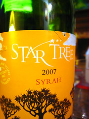 Star Tree (s'kat) Tags: wine winelabel startree paintinspiration