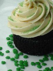Guinness Cupcakes with Bailey's Irish Cream Frosting 033