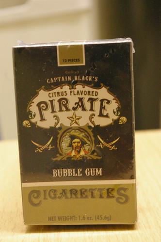 Pirate children's cigarettes