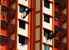 Singapore Life (swisscan) Tags: house color building singapore asia apartment highrise aplusphoto