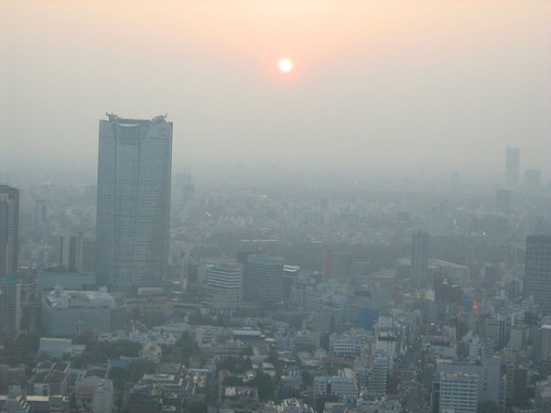 View from top of Tokyo Tower 3