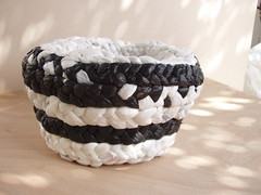 basket (Arbel Egger) Tags: basket recycle weaving plasticbags