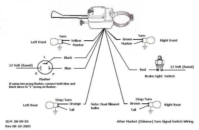 7 Wire Turn Signal Diagram - wiring diagram on the net V Rod Wiring Diagram on