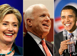 clinton, mccain, obama