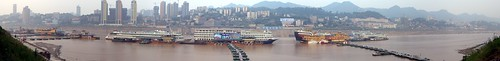 pano of Chongqing Cruise