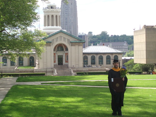 With Carnegie Mellon tower