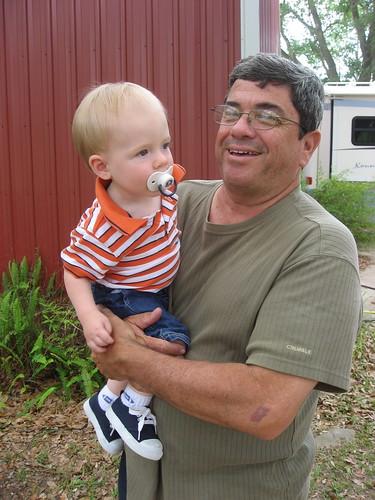 Ian & Grandpa Rowland