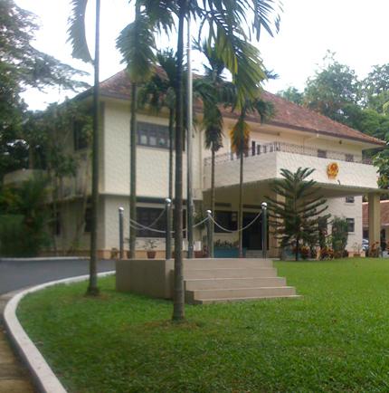 Viatnamese Embassy SG