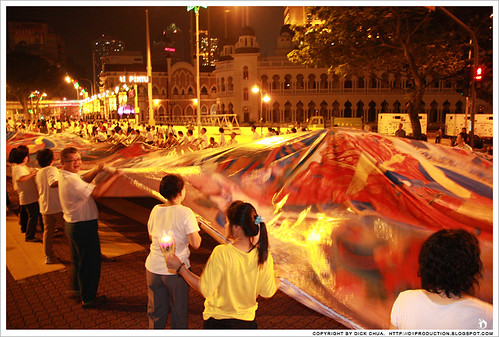 Parade on Wesak Day