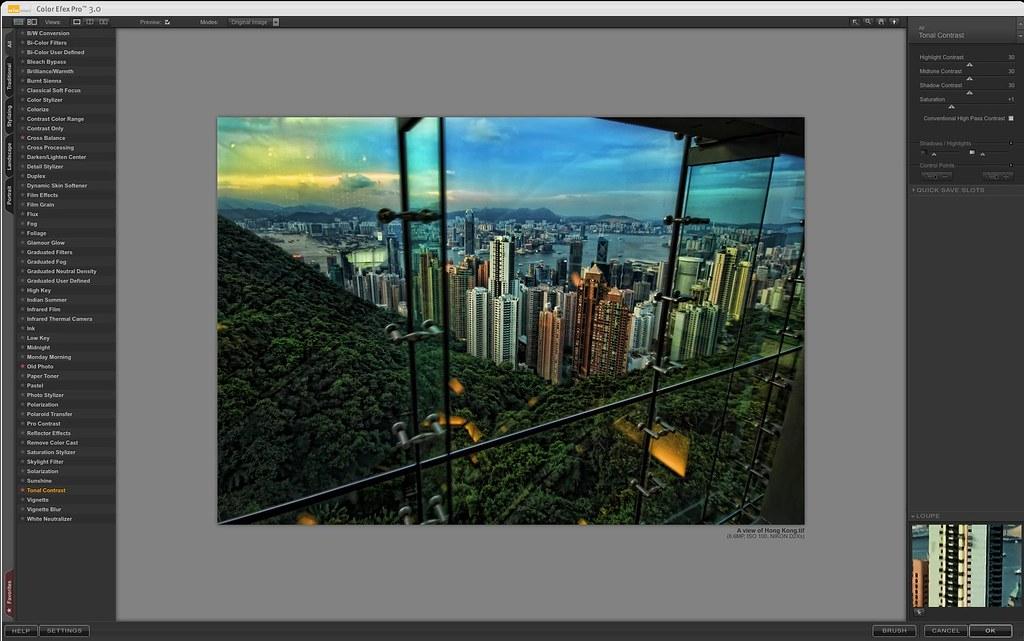 Color Efex Pro 3.0 -HK  Tonal Contrast