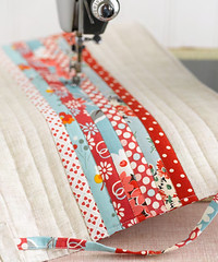 I Love Patchwork Preview - Sewing Machine Cover (rashida coleman-hale) Tags: linen badge badges patchwork preview zakka craftbook interweavepress ilovepatchwork