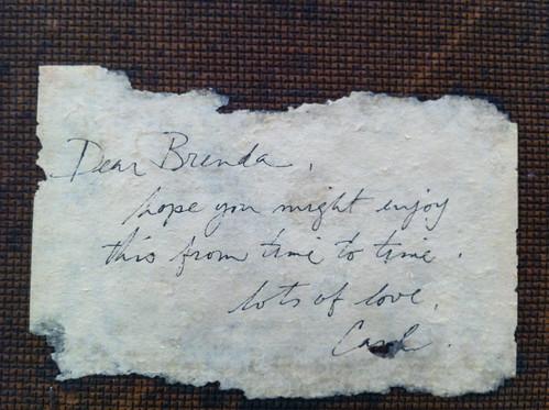 Dear Brenda