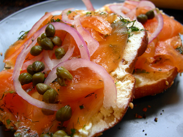 Everything Bagels and Grava Lox