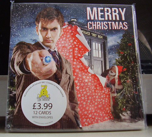Doctor Who Christmas Card [Front]