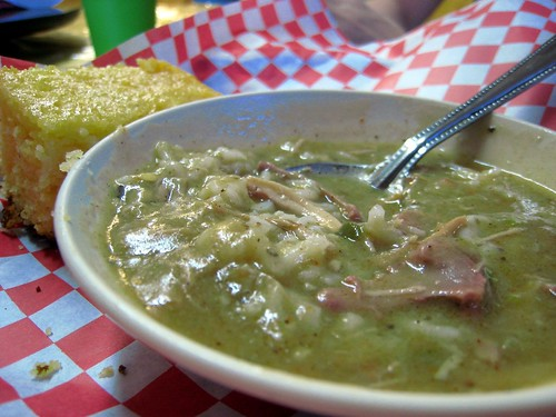 Some superdelicious chicken and sausage gumbo