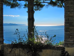 Natural window (klausthebest) Tags: blue sea sky italy tree window water skyline italia mare blu liguria finestra cielo albero acqua italians orizzonte santamargheritaligure cervara wonderworld supershot flickrsbest passionphotography mywinners ultimateshot holidaysvacanzeurlaub superbmasterpiece diamondclassphotographer ysplix theunforgettablepictures theperfectphotographer abbaziadellacervara