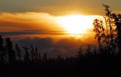 Nord-du-Qubec (Rock Arsenault) Tags: naturessilhouettes nemiscau