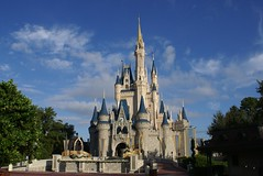 morning at Cinderella Castle