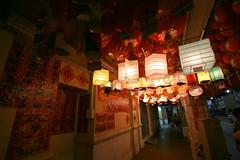 Roof on fires (Nelson Chee) Tags: building chinatown lantern kuala lumpur petalingstreet