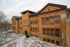 R.I.P. - James McMillan School (1894-2008) by SNWEB.ORG Photography, LLC.