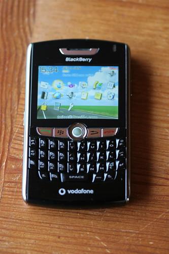 Mon Blackberry 8800